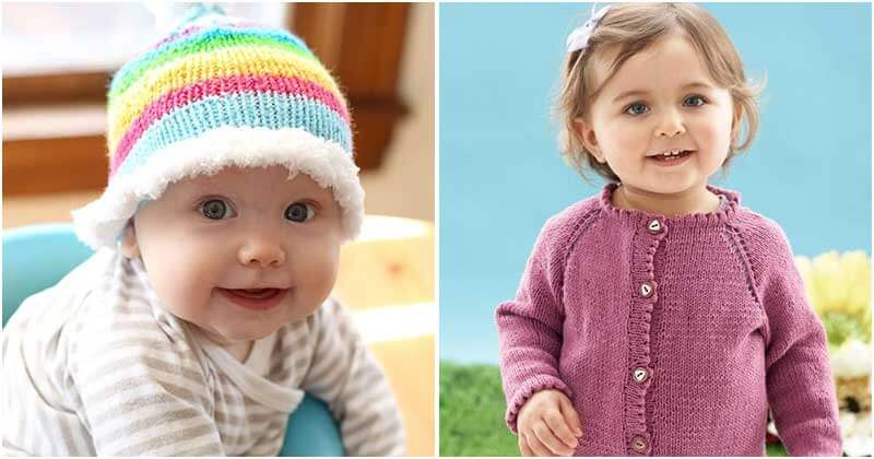 27 Adorable Knitting Patterns For Babies