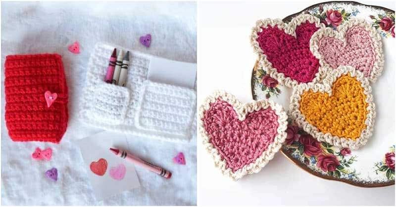 28 Easy Crochet Projects for Valentines