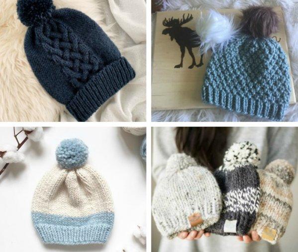 16 Free Knit Hat Patterns On Circular Needles