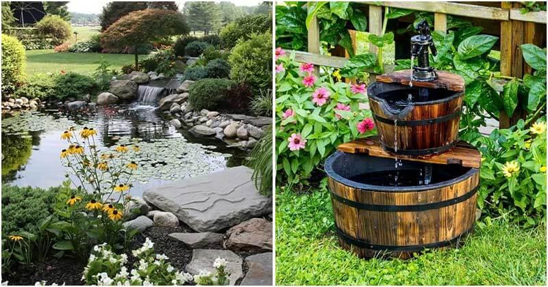 21 Great Water Gardening Ideas