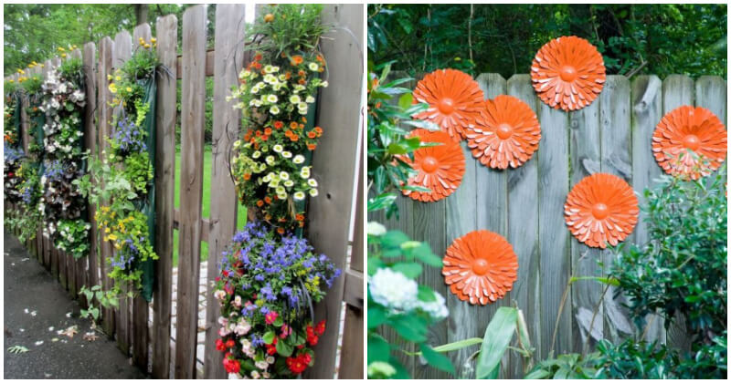 15 Cool Garden Fence Ideas To Liven Up Your Landscape