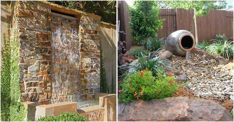 How do you think about adding small water ideas to your outdoor space? A chance to immerse in the beauty of nature with an entirely new and diverse ecosystem of plants, or feel the sound of water as funny music, all are a great thing that you might get. In this post today, we are so glad to share 21 Unique Water Ideas For Your Outdoor Space, from small waterfalls to deluxe swimming pools and you will have more choice. Taking them a look, they are so beautiful, right? Each has its own beauty, and you will have different feelings. Whether you want to find a stunning landscape or a DIY project for this weekend, there is something for you. No longer a boring garden just with grasses or vegetables, these projects are a great alternative that you should make for your house. Choosing one and try it right now! #1 Rock Water Feature Image Credits: Owntheyard #2 A Water Feature With Stones, Rocks and Flowers In Large Grass Garden Image Credits: Novocom #3 Small Koi Pond In Fron Yard Image Credits: Kevinszabojrplumbing #4 A Small Cool Pool In Front Garden With Flowers and Plants Image Credits: Lovehomedesigns #5 Gorgeous Small Backyard Pool Image Credits: Engineeringdiscoveries #6 Rooftop Pools Image Credits: Diamondspas #7 A Waterfall Makes A Smal River Right In Front Yard Image Credits: Gardenholic #8 A Small Garden Pond With Red Wooden Bridge Image Credits: 9gag #9 A Creek With Smooth Flow Through The Garden Image Credits: Yardshare #10 A Small Waterfall For The Corner Of The House Image Credits: Backyardboss #11 A Waterfall For Backyard Image Credits: Nytimes #12 A Small Waterfall In Front Yard Image Credits: Islandstonetx #13 A Water Brick Wall Image Credits: Birminghamhomeandgarden #14 A Small River But It Makes A Waterfall Image Credits: Hometalk #15 A Water Feature For Front Yard Image Credits: Yardsurfer #16A Water Chum For Backyard Image Credits: Roomzaar #17 A Stunning Waterfall For The Landscaping of The Large Backyard Image Credits: Aquascapeinc #18 A Pool Tub For