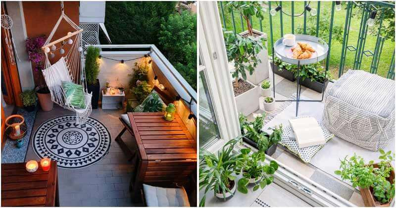 24 Charming and Cozy Balcony Garden Ideas For Your Apartment