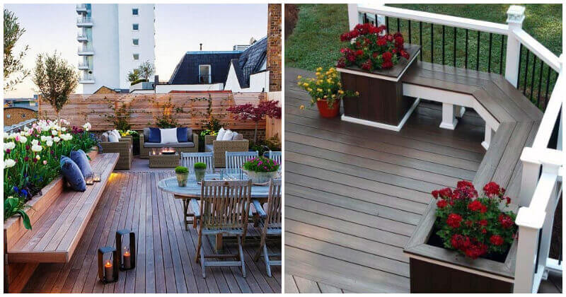 Shimmering Deck Bench Ideas For Your Outdoor Space